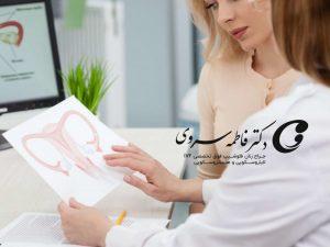 بررسی علائم و نشانه های هیدروسالپنکس
